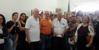 Visita dos alunos da escola E.E. Dom Jayme de Barros Câmara.