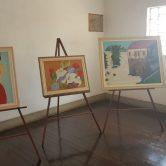 """EXPOSIÇÃO DE QUADROS PINTURA ÓLEO SOBRE TELA – """"CORES QUE VIBRAM"""" – Artista: Sonia Maria de Oliveira Fregatti"""